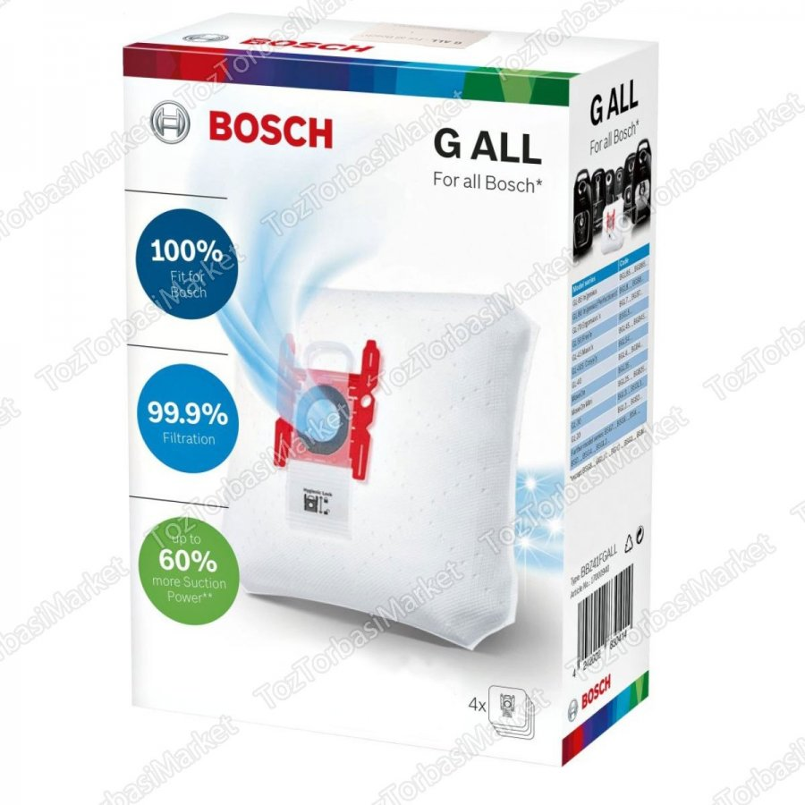 BOSCH TYPE G ALL 4 lü Kutu - FS10636