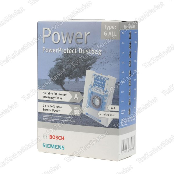 BOSCH TYPE G POWER KUTU 4+1 - FS10642